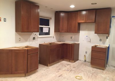 Installing Cabinets