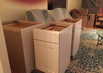 Day124 Cabinets Arrive  400x284 - Annandale Kitchen