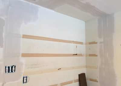 Closing in with Drywall