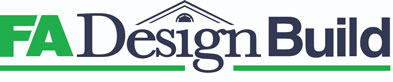 FA design build logo - Bathroom & Kitchen Remodel: What to Consider Before You Swing a Hammer