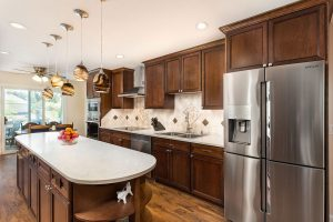 Kitchen with wood cabinets 300x200 - Kitchen-with-wood-cabinets